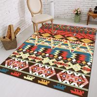 100*160cm Europe Style printed Ethnic Carpet For Living Room Kitchen Bathroom Hallway Absorbent Non slip Rug Home Decor