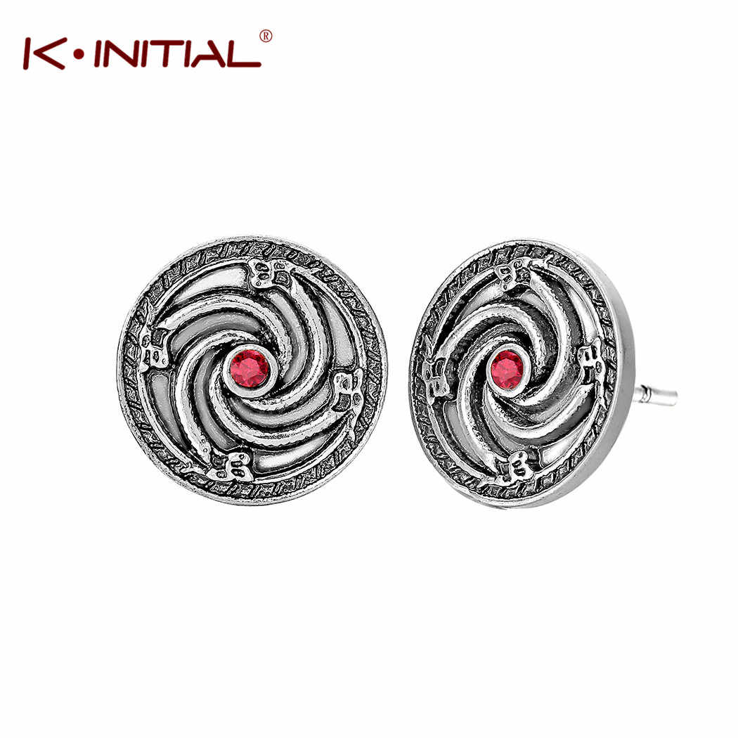 Kinitial Hot Design Viking Jewelry Round Disc Stud Earrings For Wedding Elegant Vintage Animal Wolf Amulet Earring Wholesale