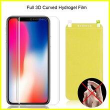 Full Coverage For LG V50 V40 V30 V20 Hydrogel Film Soft TPU Screen Protector Guard Curved G5 G6 G7 G8