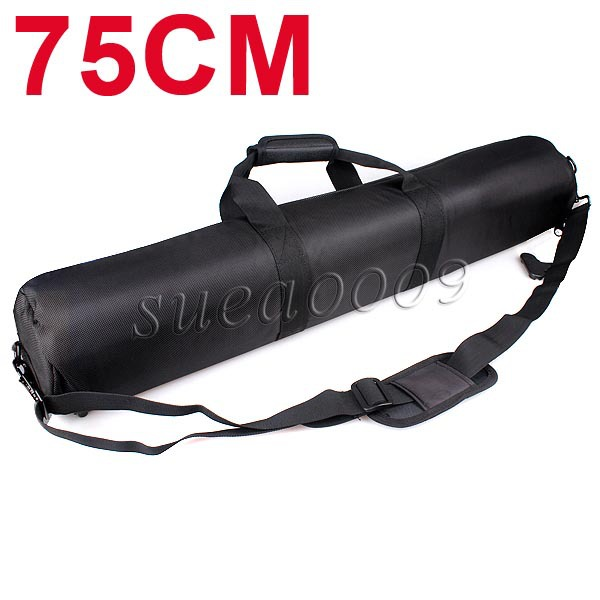 SUPON 31 75cm Padded Light Stand Tripod Phototgraply Accessories Black Carry Carrying Bag Case