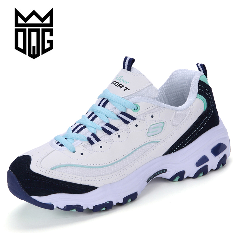 DQG 2018 Spring Women Running Shoes Light Weight Sneakers Women