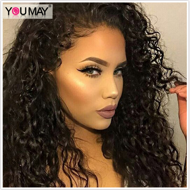 Brazilian Loose Deep Wave 360 Lace Wig 180% Density Full Lace Human Hair Wigs With Baby Hair Pre Plucked 360 Lace Frontal Wig