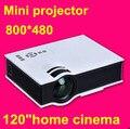 El envío gratuito! 2015 NewestMini Portátil Pico AV VGA USB SD HDMI de vídeo digital led Proyector de cine en casa Projetor
