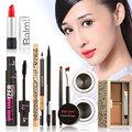 Women Fashion Makeup Set Gift Gel Eyeliner Eye Liner Pen Eyebrow Pencil Sexy Lipstick Eyebrow Powder Mascara Tool Kit Value Pack