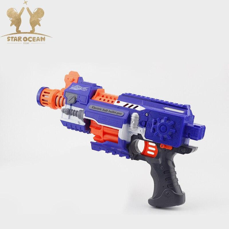 Enfants jouet Sniper fusil mitraillette Airsoft air Paintball balles souples costume pour pistolet Nerf jouet pistolets