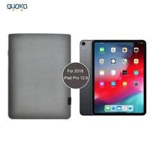 2018 прибытие продажи ультра-тонкий супер тонкий рукав чехол, микрофибра кожаный чехол для планшета для 2018 iPad Pro 12,9 дюйма