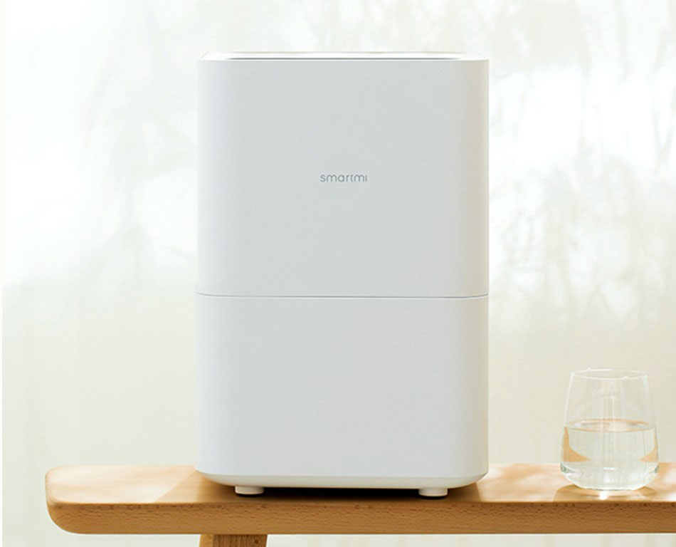 Xiaomi Smartmi Pure Air Humidifier Automatic Water Evaporation Mist Maker Mobile APP Control Humidification