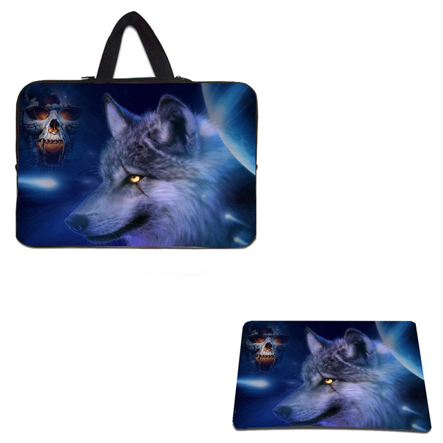 """17"""" Notebook Inner Cases Cover Laptop Bag 15.6 15 14 13 12 10"""" Netbook Bags + Anti-slip Mouse Pad Computer Accessories For Men"""