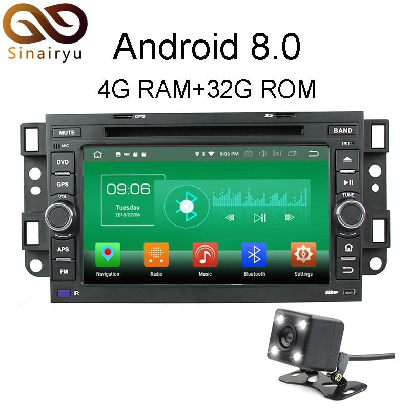 Sinairyu 4g Ram Android 80 Car Dvd For Chevrolet Aveo Epica Captiva