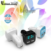 100 Genuine Brand Universal 3 Port Car Charger USB Car Charger 3 1A Plug Adapter For