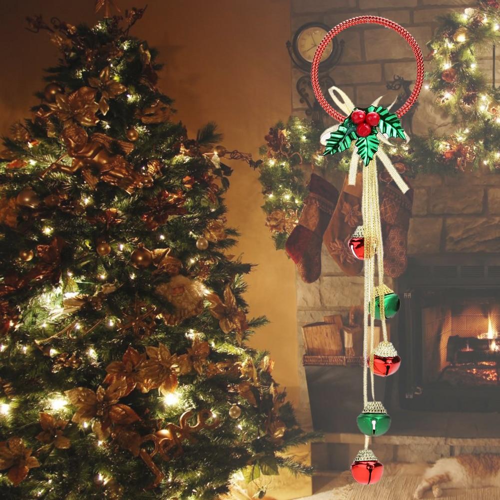 2017 Decoracion Navidad Hanging Bell Ornaments Christmas