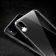 TPU Silicone Case For iPhone X XR XS Max Clear Protective Case For iPhone 6 6S 7 8 Plus 5 5S SE Transparent Soft Phone Cover tpu soft case flash rhinestone edge phone protection case silicone protective cover for iphone 7 transparent gold