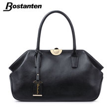 Hobos bostanten real tote handbags genuine ladies clip bags leather quality