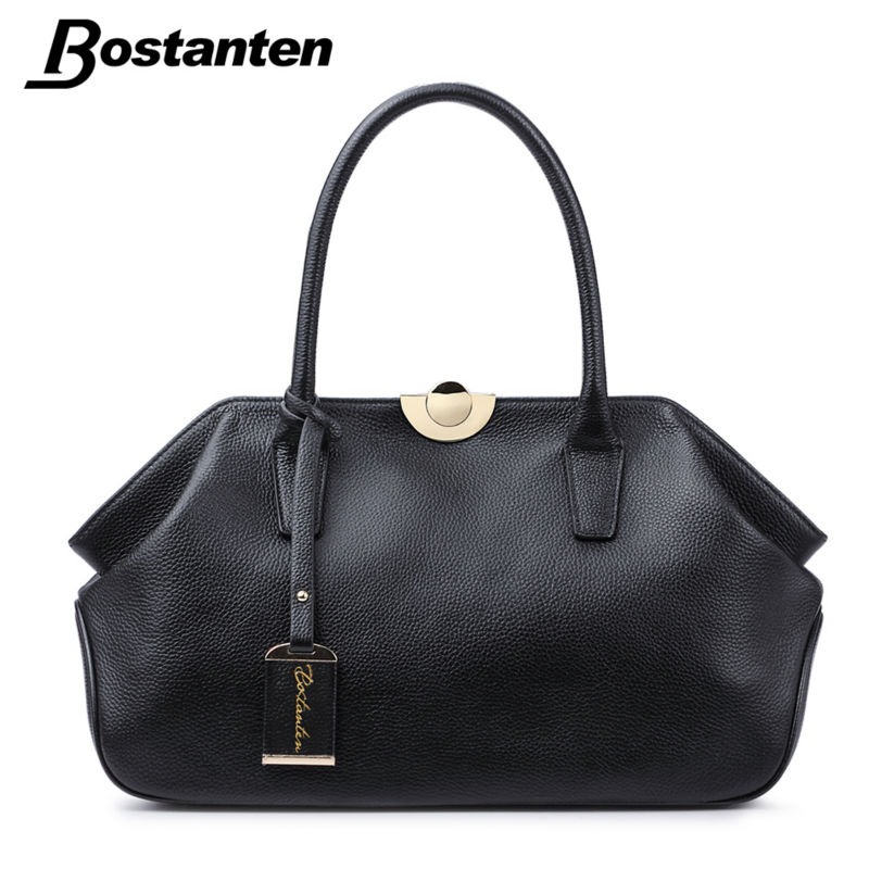 Bostanten Genuine Leather Bags Ladies Real Leather Bags s