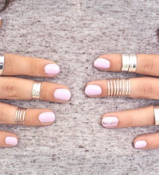 Nightclub  Alloy  Thin  Brief  Fine Every Rings Joint Finger Ring,15pcs/lot,2 colors