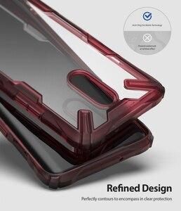Image 5 - Ringke Fusion X per Oneplus Caso Dual Layer PC Trasparente Della Copertura Posteriore di 7 e Molle di TPU Cornice Hybrid Heavy Duty di Protezione di goccia