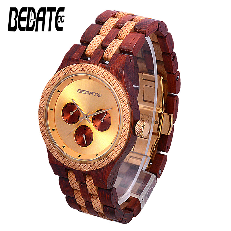 Wood Business Watches with Waterproof Luminous Clock BEWELL Men Wooden Wristwatch for Male Watch Your Family Christmas Gift 146A wood business watches with waterproof luminous clock bewell men wooden wristwatch for male watch your family christmas gift 146a