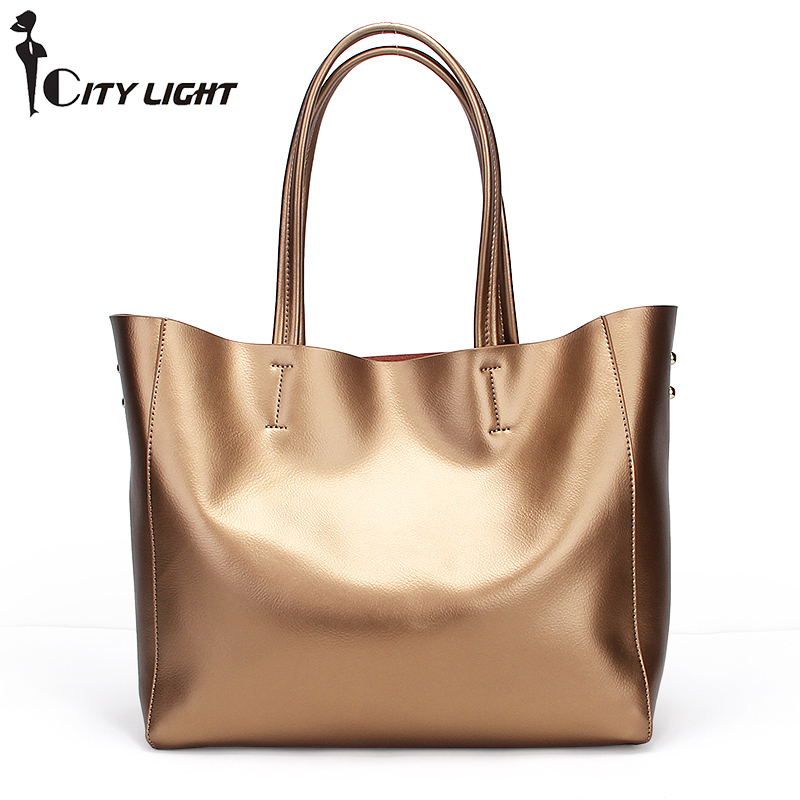 Women Fashion Composite Bag Genuine Leather Handbag Luxury Brand Women Bag Tote Bags High Quality Large Capacity Shoulder Bag 2017 esufeir brand genuine leather women handbag fashion shoulder bag solid cowhide composite bag large capacity casual tote bag