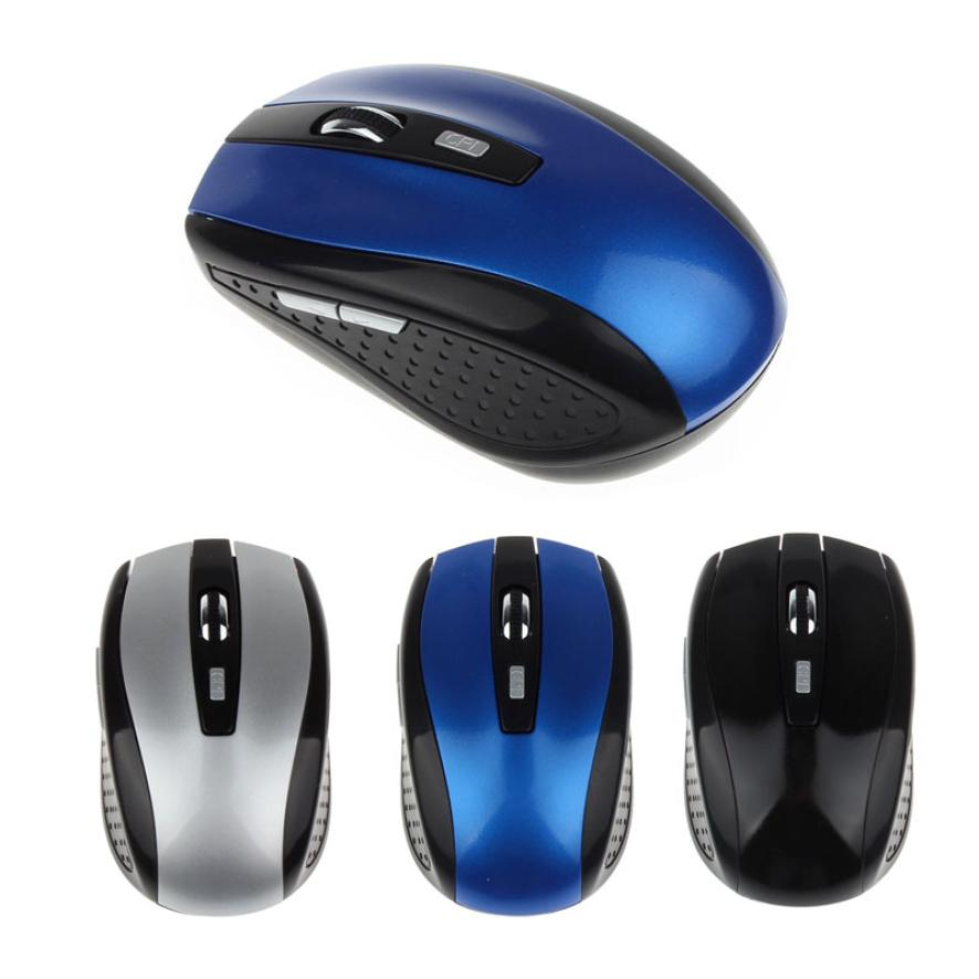 Портативный 2.4 г Беспроводной оптический Мышь Мыши компьютерные для компьютера PC ноутбук челнока 17oct25