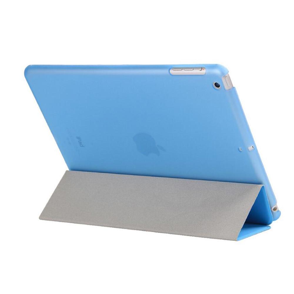 Apple iPad Hava Case PU Dəri Maqnetik Ön Ağıllı Qapaq + iPad Air - Planşet aksesuarları - Fotoqrafiya 3