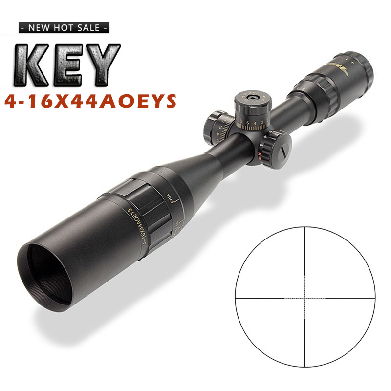 New Aim Optical Sight key 4-16X44AOEYS Riflescope Outdoor Hunting Optics Sight Scope For airgun airsoft rifle sniper accessoriesNew Aim Optical Sight key 4-16X44AOEYS Riflescope Outdoor Hunting Optics Sight Scope For airgun airsoft rifle sniper accessories