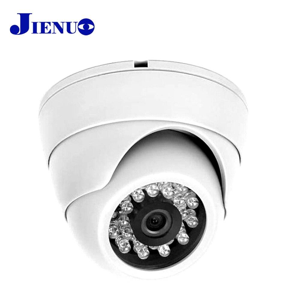 JIENU 1920*1080 câmera ip 1080 P CCTV Home Security Sistema de Vigilância Cúpula Interior Branco Mini Ipcam p2p Infravermelho HD Cam 2.0MP