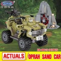 XINGBAO 06010 Genuine 347Pcs Military Series The Oprah Sand Car Set Building Blocks Bricks Funny Boys