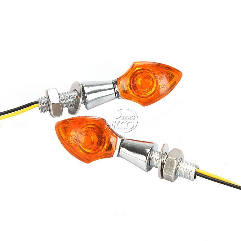 무료 배송 앰버 COB LED 오토바이 혼다 카와사키 - 오토바이 액세서리 및 부품