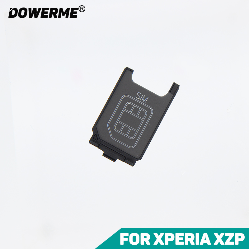 DowerMe Sim Card Holder Reader Sim Tray For Sony Xperai XZ Premium XZP G8142 G8141