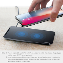 Wireless Desktop Charger For iPhone X 8 Samsung S8 S9 S9+ Note 8