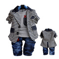 Anlencool Free shipping baby boy Autumn Valley small bar suits complement baby clothing boy's clothing set brand