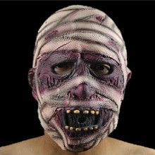 Adult Ghost  Scary Mummy Mask Haloween Face Payday Masks Terror Devil Cosplay Ecofriendly Latex Masque