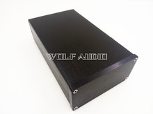 0905 Black Full Aluminum Audio Amplifier Enclosure/ Mini AMP Case/  Preamp Box/ PSU Chassis