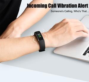 Image 5 - Nouveau Bracelet intelligent Bracelet avec fréquence cardiaque podomètre multifonction bande intelligente pour Android IOS Fitnesstracker
