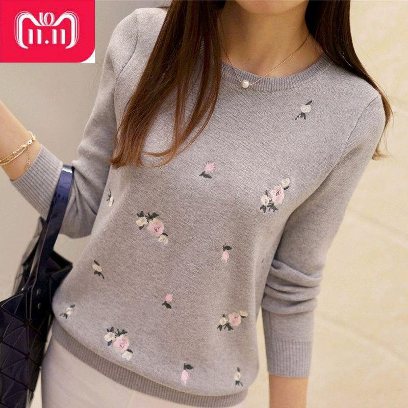 Pull tricoté pour l'automne-hiver ...