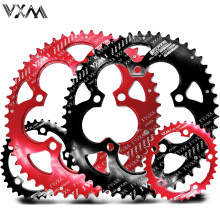 VXM Road Bicylcle 110BCD 35/50T Oval Chainwheel Kit Bike 7075-T6 Alloy Ultralight Ellipse Climbing Power Chainring Plate