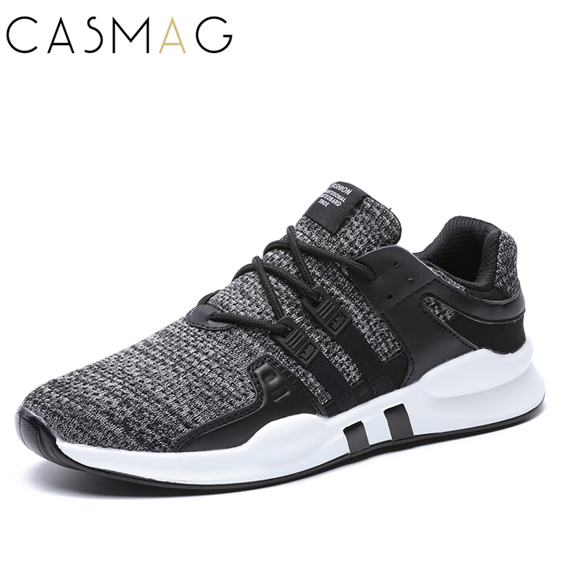 CASMAG Size 39-46 New Design Men Running Shoes Walking Breathable Mesh Lightweight Sneakers Jogging Shoes