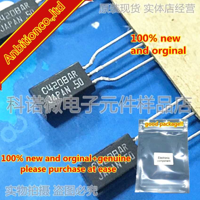 10pcs 100% New And Orginal 2SC4208 C4208 TO-92 Silicon NPN Epitaxial Planer Type In Stock