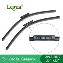цена на Legua car winscreen Wiper blades for Dacia Sandero(2012-2017),20+22,Boneless, windshield, wiper rubber