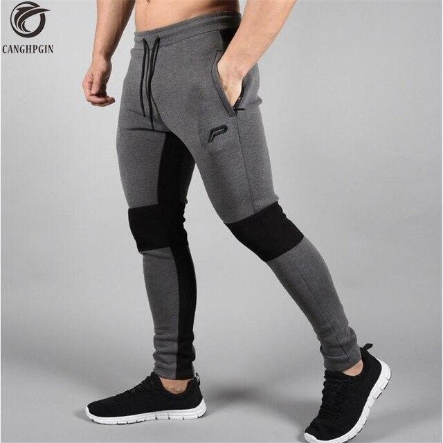 2018 Nouveau Collants de Course Hommes Joggers Comprimé Pantalon Gym  Musculation homme Pantalon Sport Legging Moulant 5c1a00dd608