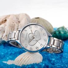 Модные женские туфли часы Кристалл Нержавеющаясталь Аналоговые кварцевые наручные часы браслет классика роскошные золотые relogio feminino F70