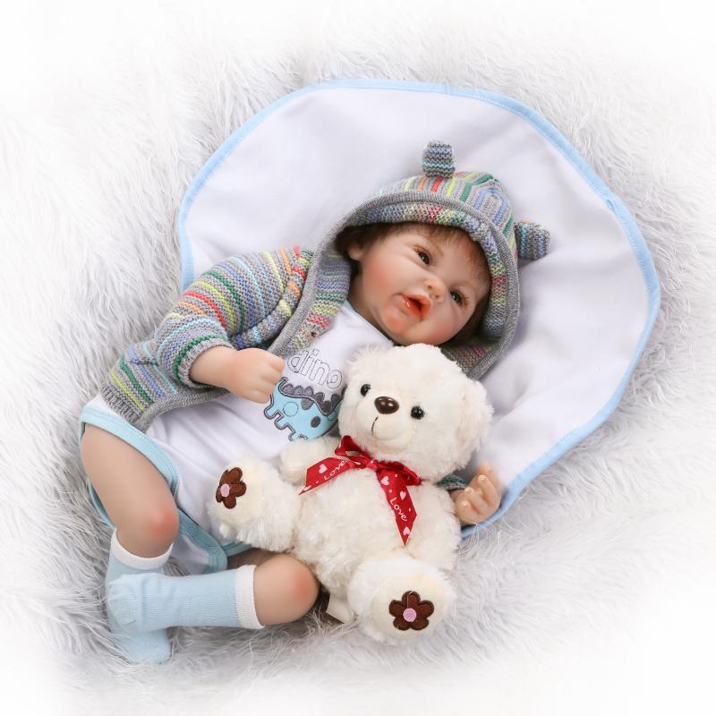 20 Inch Reborn Dolls 50cm Toys