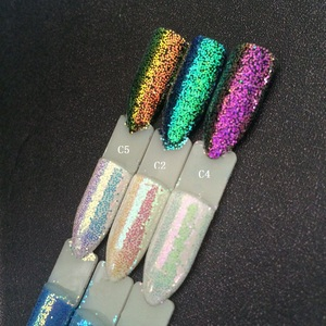 Image 3 - 3 банки/набор, блестки для ногтей