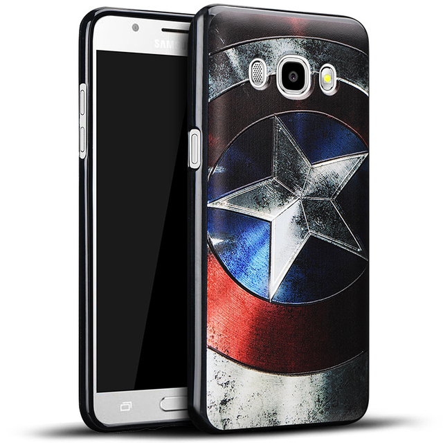 3D Marvel Superheroes Reliefcase Phone Case For Samsung