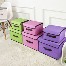 Non-woven fabric Socks Underwear Storage Box Household Foldable Bra Tie Organizer Wardrobe Container