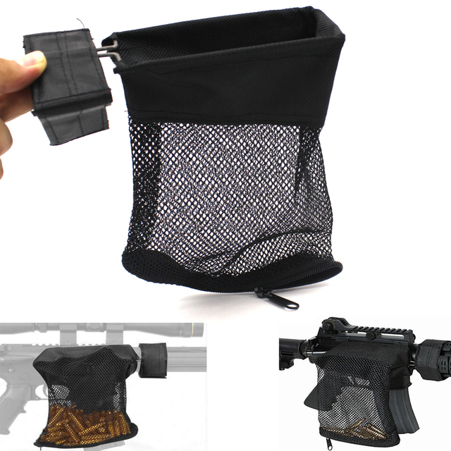 Ar 15 Ammo Brass S Catcher Trap Zippered Closure For Quick Nylon Tactical Shooting Bag