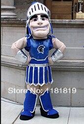 Acquista A Buon Mercato Mascotte Blu Spartan Trojan Cavaliere Del Costume Della Mascotte Di Fantasia Personalizzata Costume Cosplay Fancy Dress Costume Di Carnevale