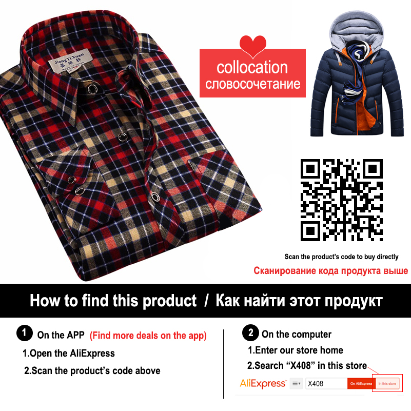 Winter Jacket Men Hat Detachable Warm Coat Cotton-Padded Outwear Mens Coats Jackets Hooded Collar Slim Clothes Thick Parkas X327 5