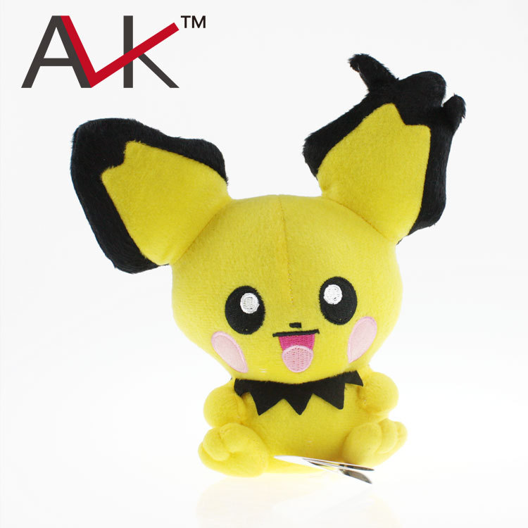 Free Shipping Hot Sale 20cm Super cute Pikachu Plush Toys Plush Toys for Children's Gift High Quality hot sale 12cm foreign chavo genuine peluche plush toys character mini humanoid dolls