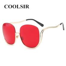 COOLSIR 2019 Vintage Rimless Sunglasses Women Alloy Frame Retro Mirror Sun Glasses Mens Brand Designer Plain